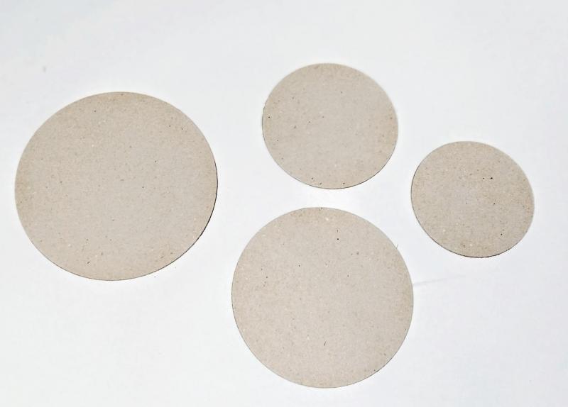 Bolachas de papelão