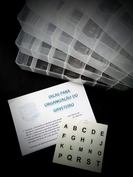Gaveteiro tipográfico