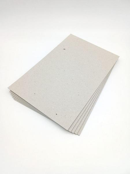 Papelão cinza para cartonagem